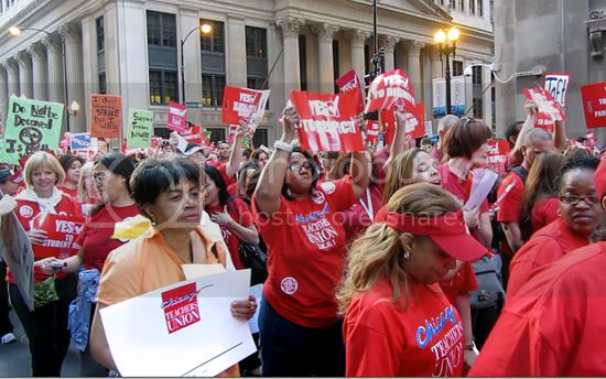 CTU march in Chicago