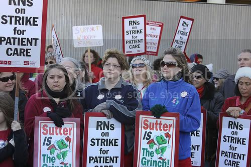 National Nurses United strike